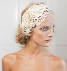 50 Blusher Veils and Bridcage for Brides Ideas 11