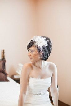 50 Blusher Veils and Bridcage for Brides Ideas 15