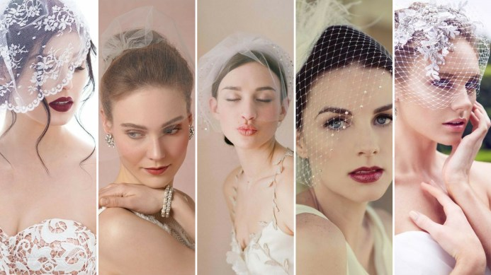 50 Blusher Veils and Bridcage for Brides Ideas 20