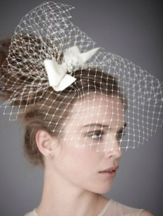 50 Blusher Veils and Bridcage for Brides Ideas 49