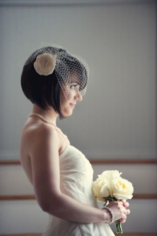 50 Blusher Veils and Bridcage for Brides Ideas 7