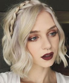 50 Braids Short Hair Wedding Hairstyles Ideas 10