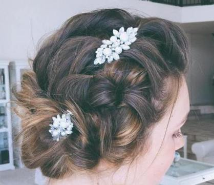 50 Braids Short Hair Wedding Hairstyles Ideas 12