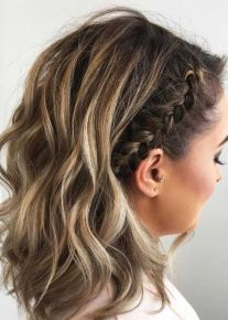 50 Braids Short Hair Wedding Hairstyles Ideas 17