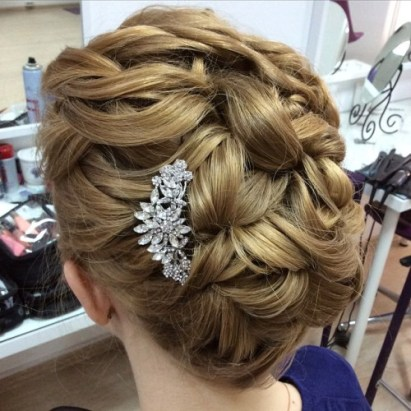 50 Braids Short Hair Wedding Hairstyles Ideas 18