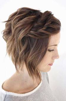 50 Braids Short Hair Wedding Hairstyles Ideas 20