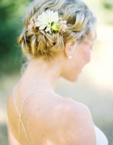 50 Braids Short Hair Wedding Hairstyles Ideas 29