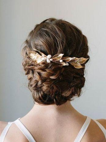 50 Braids Short Hair Wedding Hairstyles Ideas 3