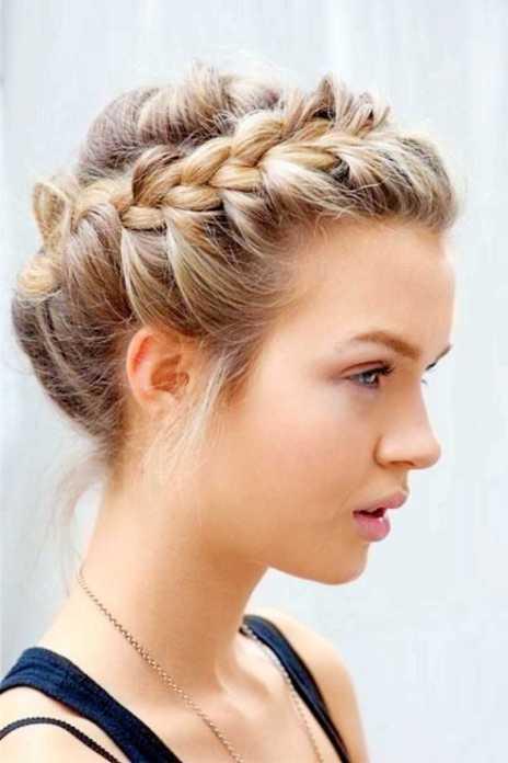50 Braids Short Hair Wedding Hairstyles Ideas 33