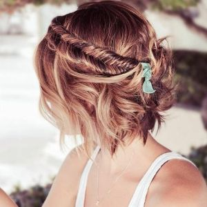 50 Braids Short Hair Wedding Hairstyles Ideas 35