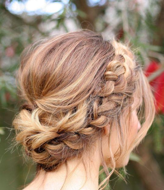 50 Braids Short Hair Wedding Hairstyles Ideas 45