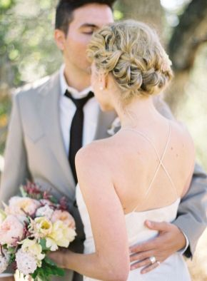 50 Braids Short Hair Wedding Hairstyles Ideas 7