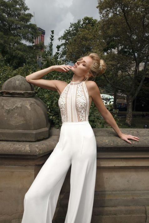 50 Bridal Jumpsuits Look Ideas 12