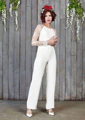 50 Bridal Jumpsuits Look Ideas 25