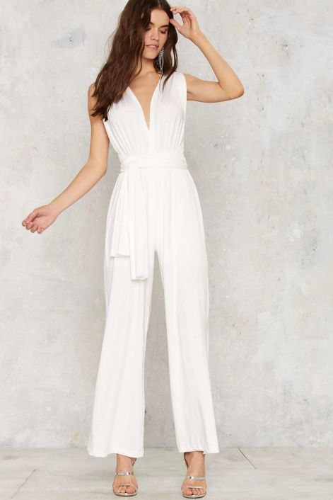 50 Bridal Jumpsuits Look Ideas 27