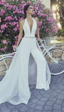 50 Bridal Jumpsuits Look Ideas 3