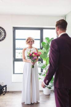 50 Bridal Jumpsuits Look Ideas 43