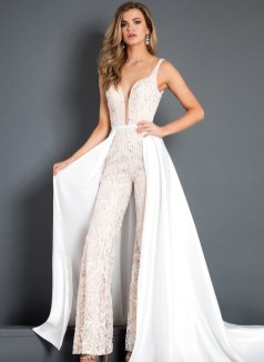 50 Bridal Jumpsuits Look Ideas 48