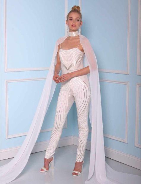 50 Bridal Jumpsuits Look Ideas 53