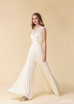 50 Bridal Jumpsuits Look Ideas 8