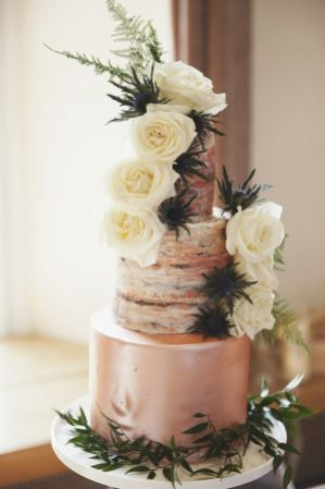 50 Gold Wedding Cakes Ideas 24