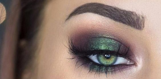50 Green Eyes Makeup Ideas 9