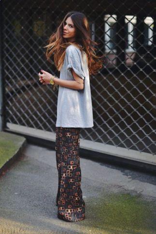 50 How to Wear an Oversized T Shirt Ideas 45