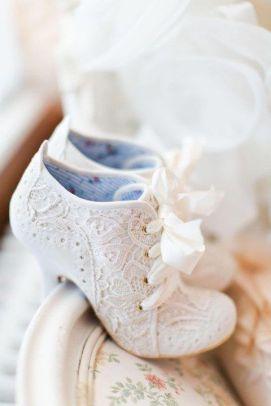 50 Lace Heels Bridal Shoes Ideas 10