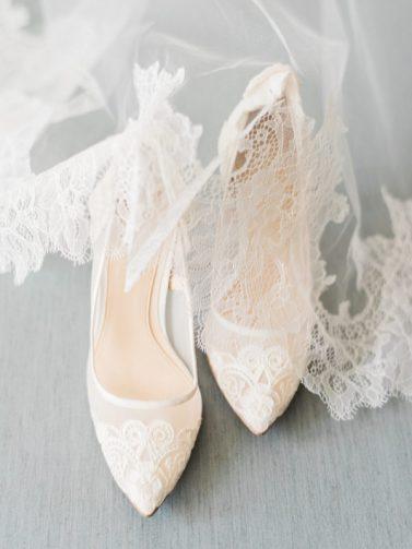 50 Lace Heels Bridal Shoes Ideas 16