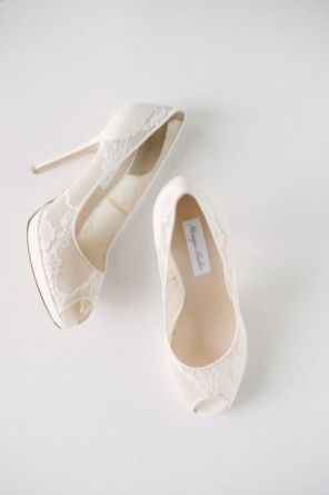 50 Lace Heels Bridal Shoes Ideas 19