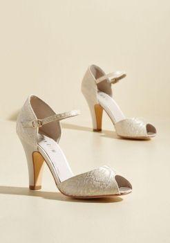 50 Lace Heels Bridal Shoes Ideas 23