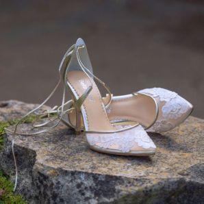 50 Lace Heels Bridal Shoes Ideas 29
