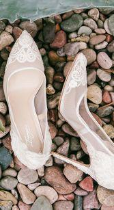 50 Lace Heels Bridal Shoes Ideas 33
