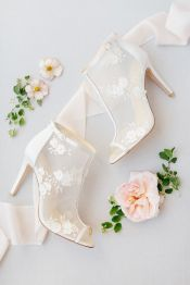 50 Lace Heels Bridal Shoes Ideas 52