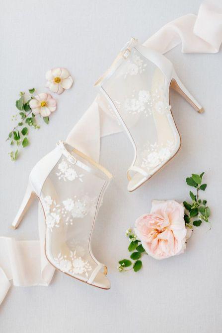 50 Lace Heels Bridal Shoes Ideas 52