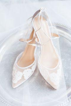 50 Lace Heels Bridal Shoes Ideas 9