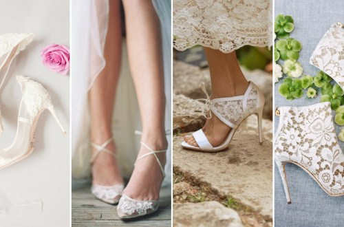 50 Lace Heels Bridal Shoes Ideas