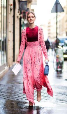 50 Möglichkeiten rosafarbene Outfits Ideen zu tragen 3