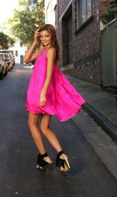 50 Möglichkeiten rosafarbene Outfits Ideen zu tragen 40