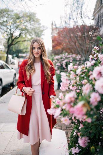 50 Möglichkeiten rosafarbene Outfits Ideen zu tragen 54