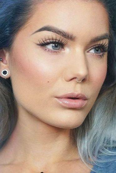 50 Perfekte natürliche Make up für Frauen Idee 41