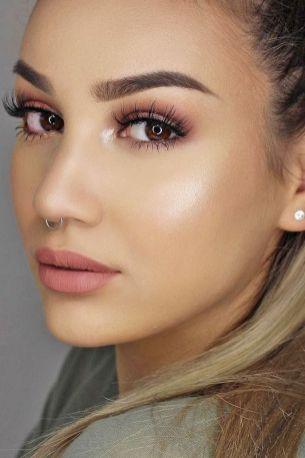 50 Perfekte natürliche Make up für Frauen Idee 5