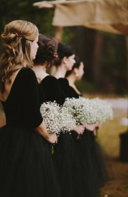 50 Schwarze Brautjungfernkleider Ideen 16 1