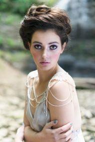 50 Shoulder Necklaces for Brides Ideas 11