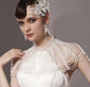 50 Shoulder Necklaces for Brides Ideas 17