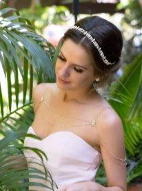 50 Shoulder Necklaces for Brides Ideas 22