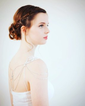 50 Shoulder Necklaces for Brides Ideas 25