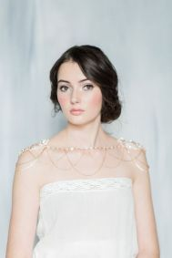 50 Shoulder Necklaces for Brides Ideas 27