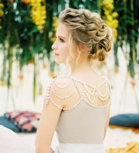 50 Shoulder Necklaces for Brides Ideas 30