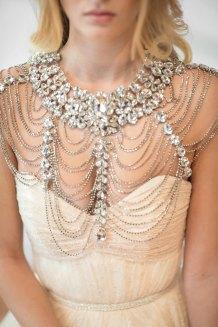 50 Shoulder Necklaces for Brides Ideas 47